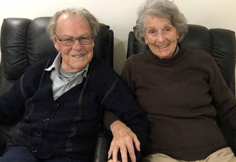 Trevor and Margaret 2017